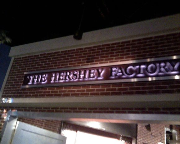 The Hershey Factory!